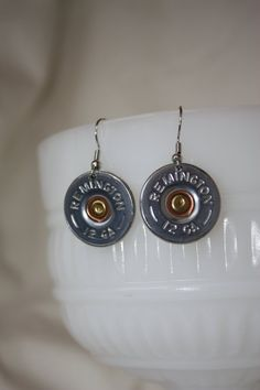 Shotgun Shell Earrings A Little Redneck, but I don't care. They are cute!