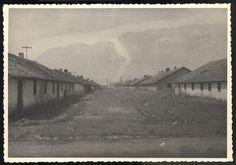 Majdanek, Poland, Barracks in the camp.