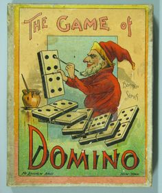 """The Game of Domino"",McLoughlin Bros.,New York."