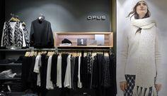 Auch die OPUS Ladenflächen sind clear, designed, brainy und natural: Ein wundervoller Rückzugsort beim Shoppen!