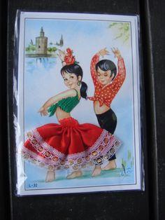 Spaanse flamenco kaart 15