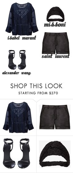 """""""#9"""" by augustamnielsen ❤ liked on Polyvore featuring мода, Isabel Marant, Yves Saint Laurent, Alexander Wang и Missoni"""