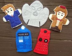 DR WHO FINGER PUPPET SET – OFNAH