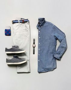 Mens Casual Dress Outfits, Stylish Mens Outfits, Cool Outfits, Business Casual Attire For Men, Casual Shirts For Men, Mens Urban Streetwear, Chinos Men Outfit, Outfit Grid, Mens Fashion Suits