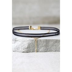 Mesh Case Scenario Black and Gold Layered Choker Necklace ($11) ❤ liked on Polyvore featuring jewelry, necklaces, black, double layer necklace, lulu jewelry, choker jewelry, wrap choker necklaces and layered necklace