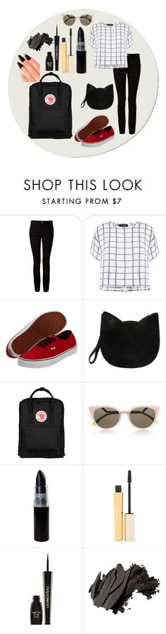"""""""Untitled #107"""" by nxrwxy ❤ liked on Polyvore featuring Alexander Wang, Myne, Vans, Forever 21, Fjällräven, Fendi, Stila, Napoleon Perdis, Bobbi Brown Cosmetics and House of Holland"""
