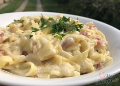 Fall Dinner Recipes, Fall Recipes, Slovakian Food, Pasta Recipes, Cooking Recipes, Healthy Cooking, Healthy Recipes, Food Inspiration, Macaroni And Cheese