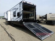 New 2016 Grand Design Momentum M-Class 348 M Toy Hauler Fifth Wheel at General RV   North Canton, OH   #125488