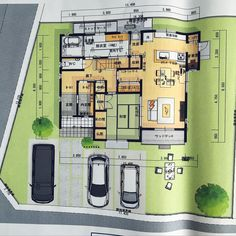 Great King, Come And Go, Japanese House, House Layouts, Rooftop, Exterior Design, House Plans, Old Things, Architecture