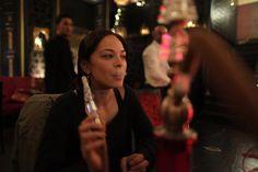 Kristin Kreuk Smoking Hookah. Shisha Shop, 11-13 Fairways Business Park, Lammas Road, London E10 7QB 020 8133 3263. #shisha #coals #hookah #shishaflavours #flavours #shisha #celebrity #charcoal #shishapipe