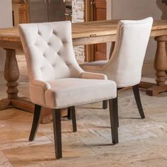 Rosalind Tufted Side Chair (Set of Tufted Accent Chair, Accent Chairs, Accent Tables, Parsons Chairs, Dining Room Table, Dining Rooms, Dinning Chairs, Kitchen Dining, Kitchen Tables