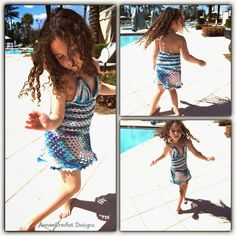 Abigail's Beach Dress ~ Size 5 - 6 girls ~ Free Pattern with photos