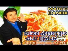 BUON APPETITO all' Italia che va (1988) cantata da MARCO DANESI   La divertente e ironica sigla di FANTASTICO 9 del 1988 con Enrico Montesano e Anna Oxa scritta dal Maestro CLAUDIO MATTONE.