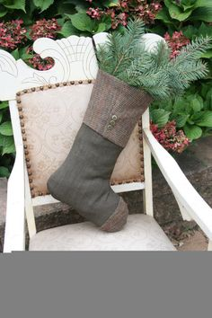 2f202b7dd44a Professor in Tweed - another more masculine look. Sable Foster · Christmas  stocking ideas
