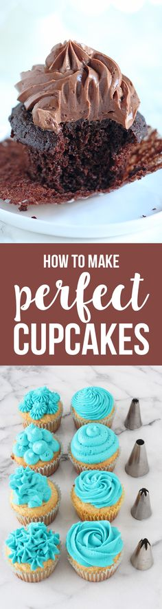 HOT PIN! Make PERFECTLY moist, flavorful, and beautiful cupcakes with EVERY TIP you'd ever need!