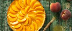 Peach & Lemon Flan recipe from Food in a Minute