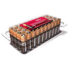 Duracell Plus AA Batteries Bulk Tub (40 Pack)