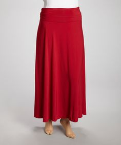 A staple in every woman's wardrobe, this soft stretch maxi skirt mixes and matches in any season. The wide, high waist offers comfortable tummy control, while the subtle volume of the skirt is fantastically femme.