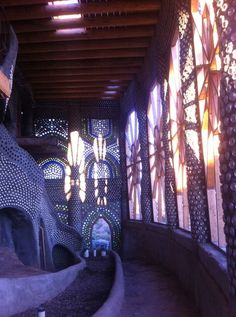 Earthship construction Wow imagine waking up to this beautiful