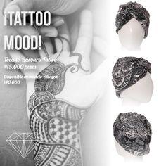 Tatto Mood Turbante Allegra y Bárbara Tattoo #Turban #Turbante #Cancer #Fashion