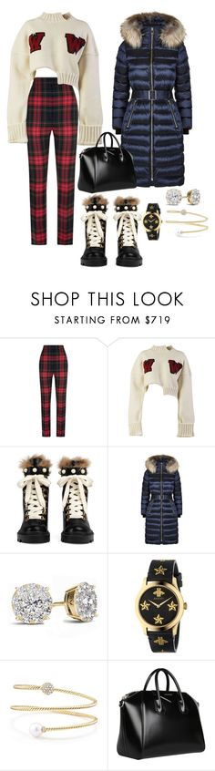 """""""Untitled #177"""" by misstoolbox ❤ liked on Polyvore featuring Burberry, Off-White, Gucci, David Yurman and Givenchy"""