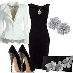 See more Fashions in Black and White color