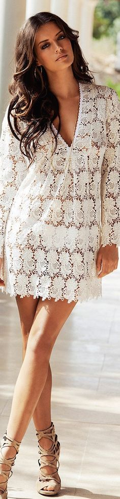 LOOKandLOVEwithLOLO: Melissa Odabash 2015 Swimwear Lookbook (part 2) Beachwear Fashion, Beachwear For Women, Swimwear 2015, Bohemian Chic Fashion, Boho Life, Melissa Odabash, Summer Chic, Elegant Woman, Lingerie