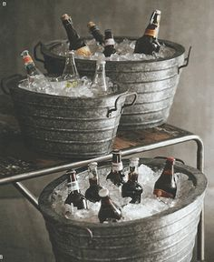 Roost Alvarado Party Buckets, Set/3*