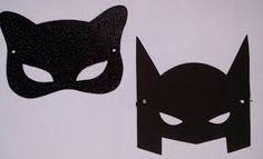 Resultado de imagem para molde máscara batman