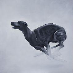 Artist: Zoltán Béla - Inevitable 1 80 x 80 cm, oil on canvas