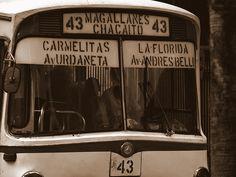 ¡Recordas es vivir! Autobús de los años '70 Carmelitas-Chacaito-La Florida, en Caracas.