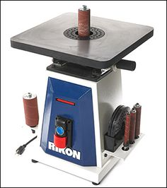 Rikon® Oscillating Spindle Sander - Woodworking