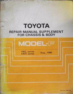 toyota 1y 1yc 2y 2yc 3y 3yc engine repair manual 83 36235e on ebid rh pinterest com Toyota Corolla 5A Engine Turbo Toyota Corolla 5A Engine Turbo