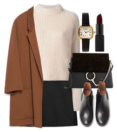 """Untitled #5067"" by laurenmboot ❤ liked on Polyvore featuring STELLA McCARTNEY, Acne Studios, Zara, NARS Cosmetics, Chloé, MANGO, women's clothing, women's fashion, women and female"