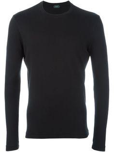 ZANONE classic sweatshirt. #zanone #cloth #sweatshirt