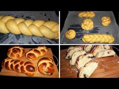 Greek Brioche Bread with Sweetened Condensed Milk - Tsoureki Brioche Bread, Condensed Milk, Greek, Easter, Make It Yourself, Facebook, Recipes, Food, Youtube