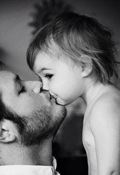 Fatherlove #cute#baby#father
