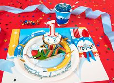Airplane Adventure 1st Birthday Basic Party Pack