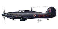 Hawker Hurricane MK.IIC – Nº 247 Squadron, RAF – Exeter, 1942