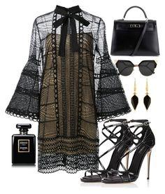""""" by biancamarie17 on Polyvore featuring Carolina Herrera, Dolce&Gabbana, Hermès, Fendi and Isabel Marant"