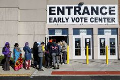 Record early voting turnout may give edge to Hillary Clinton Record early voting turnout may give edge to Hillary Clinton:- record number of Americans have voted ahead of Election Day, driven by soaring turnout from Latino voters. That could be good news for Hillary Clinton. At least 46.27 million people have cast ballots by early …