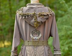 Custom sweater coat for Liz. Steampunk military by amberstudios