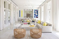 The easy-breezy retreat is built to house three generations of family   archdigest.com