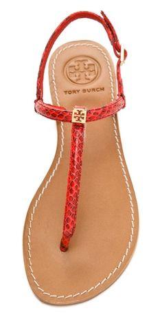 2e57d3c908ec Tory Burch Alfie Flat Sandals Shoes Flats Sandals