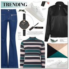 How To Wear Trending Outfit Idea 2017 - Fashion Trends Ready To Wear For Plus Size, Curvy Women Over 20, 30, 40, 50