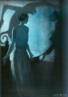 w t benda pale woman 3 1922 by Captain Geoffrey Spaulding, via Flickr