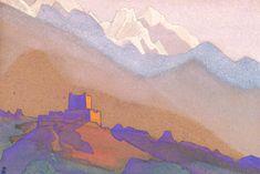 Tibet. Himalayas. - Nicholas Roerich