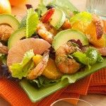 Grilled Shrimp with Avocado Citrus Salad.. another elegant and exceptional avocado dish!