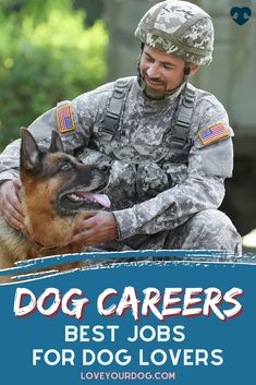 In this article, we take a look at some of the most popular occupations that dog lovers might want to consider. Also, we look at how you can get into those careers and what you can expect from the role. Big Dog Little Dog, Big Dogs, Brain Training, Dog Training Tips, Dog Information, Dog Items, Dog Behavior, That's Love, Good Job