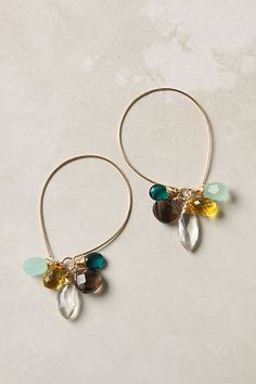 earrings from anthropologie. would be very easy to make